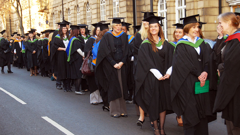 Wakefield College Graduation Day 2011 In Photos