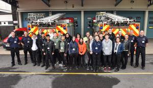 Work placement with West Yorkshire Fire & Rescue