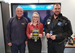 West Yorkshire Police/ SmartWater Technology visit